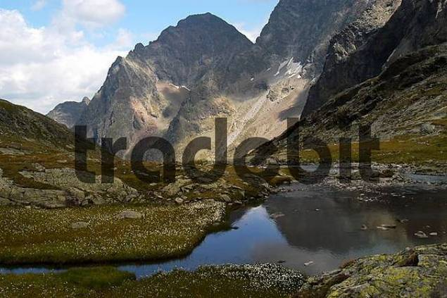 mountain scenery, national park Hohe Tauern, Austria