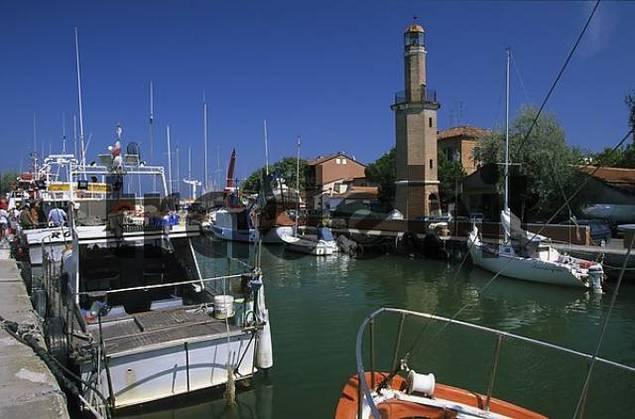 Adriatic coast Emilia-Romagna Cervia lighthouse San Michele