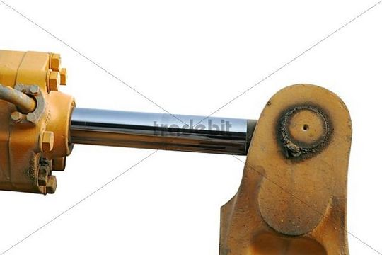 hydraulic cylinder, cut out