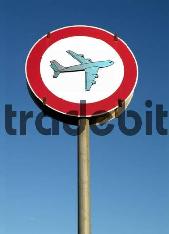 symbolic sign for air traffic