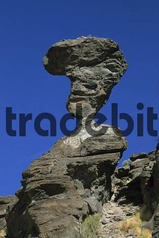 USA Idaho Twin Falls Balanced Rock