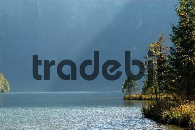 Lake Koenigssee near Berchtesgaden Upper Bavaria, Germany