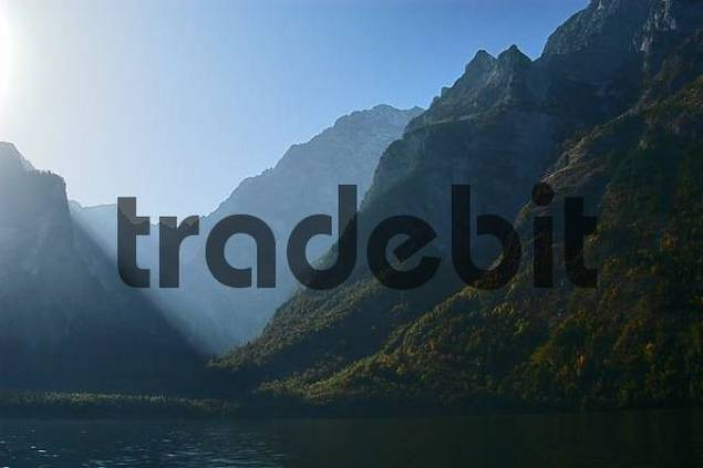 mountains around Königssee, Upper Bavaria, Bavaria, Germany