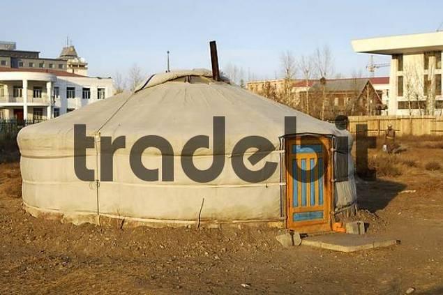 Yurt Ulaan-Baatar Mongolia