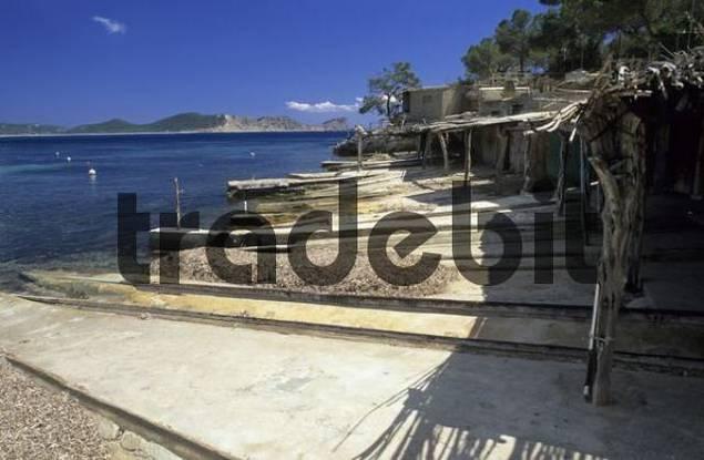Boat Garages At Cala Sa Caleta Download Architecture