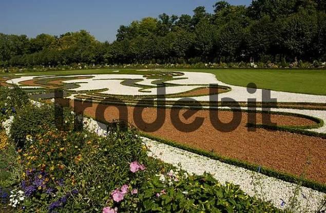 garden castle Charlottenburg Berlin Germany