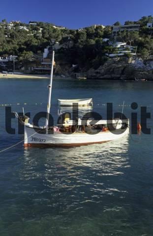 fishing boat at Cala Vadella, Ibiza