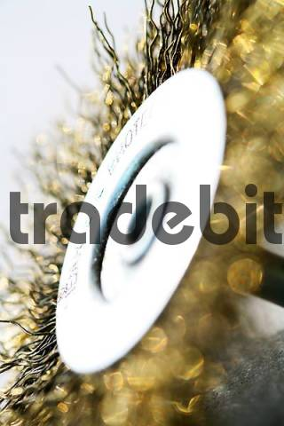 wire brush wheel for drilling machine