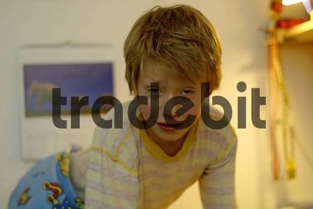 boy in pyjama