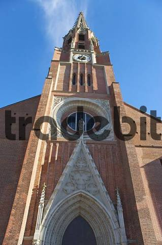 Facade of the Mariahilfkirche München-Au 1839 Munich Germany
