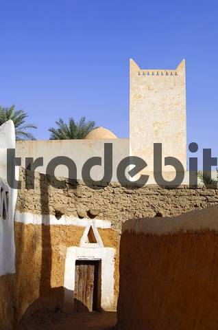 Old town of Ghadames, UNESCO world heritage, Libya