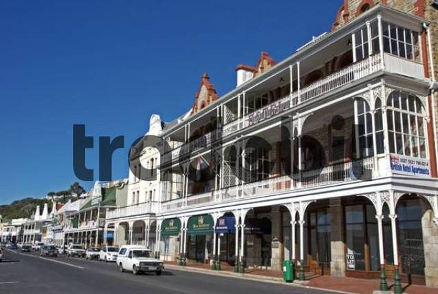 Hotel in a franco colonial style Falsebay, Province Somerset West, South Africa