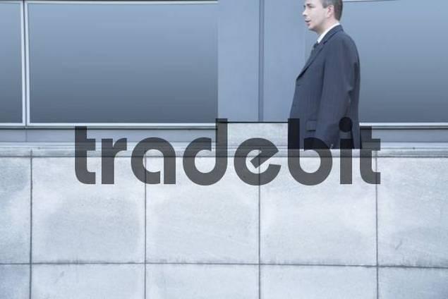 Businessman on a businesstrip