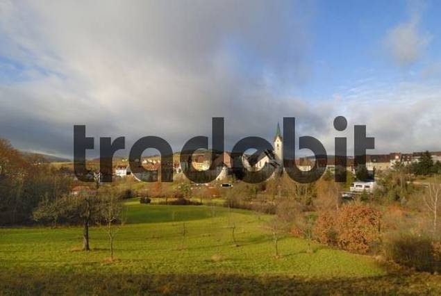 historic old town of Engen, Baden-Wuerttemberg, Germany, Europe.