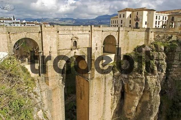Ponte Nuevo Bridge, Ronda, Andalusia, Spain