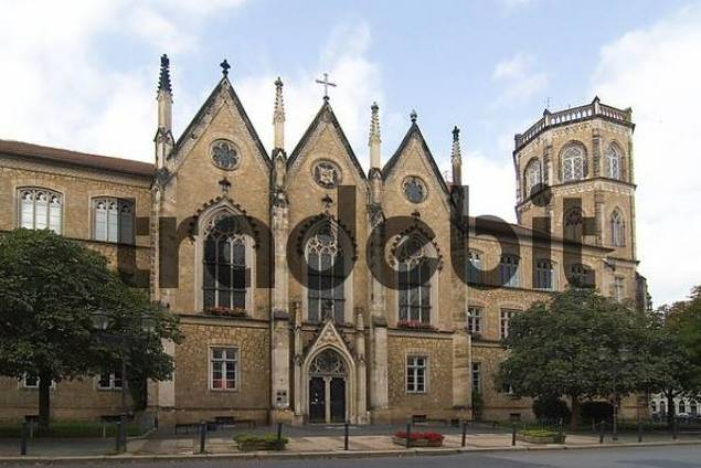 School in Goerlitz, Saxony, Germany