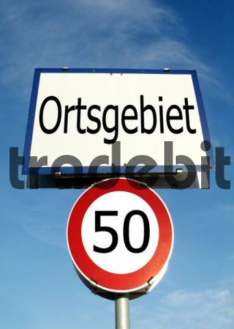 50km/H speed restriction in town