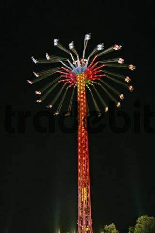 quotStar Flyerquot Carousel, Oktoberfest, Munich, Bavaria, Germany, Europe