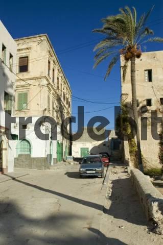 small square in the historic center of Tripoli, Libya