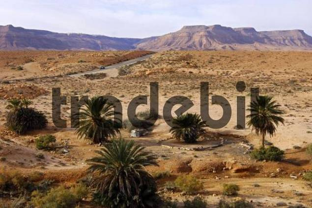 Landscape of the Maghreb, Nafusah Mountains, Libya, North Africa