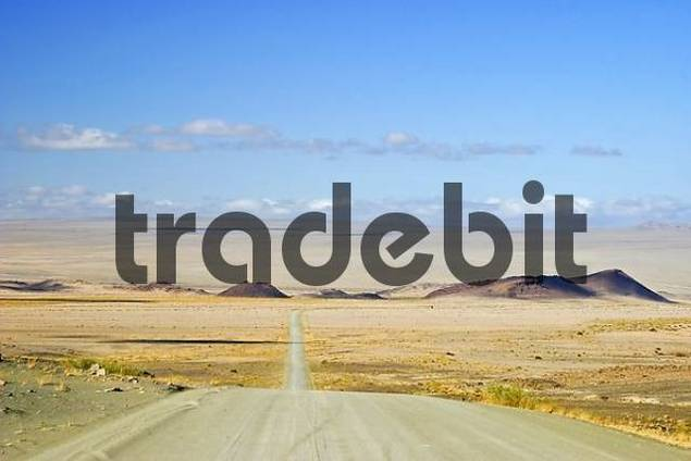 Gravelroad to the South of Namibia, Africa