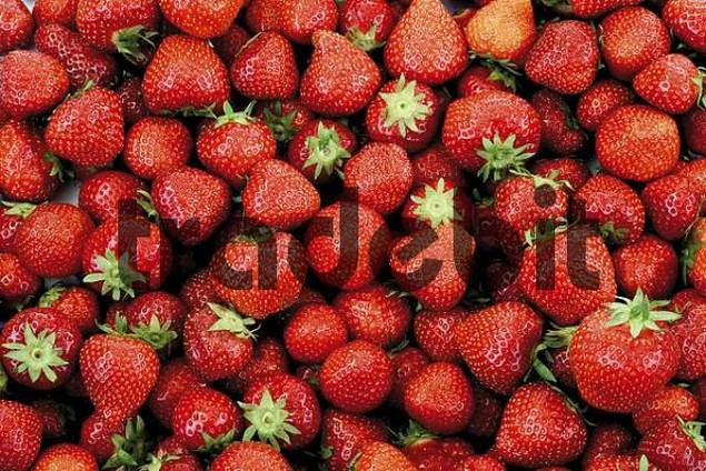 Strawberries, full frame shot