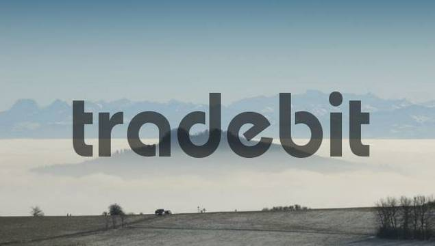 The Hohenstoffeln surrounded by fog - Konstanz district, Baden-Wuerttemberg, Germany, Europe.