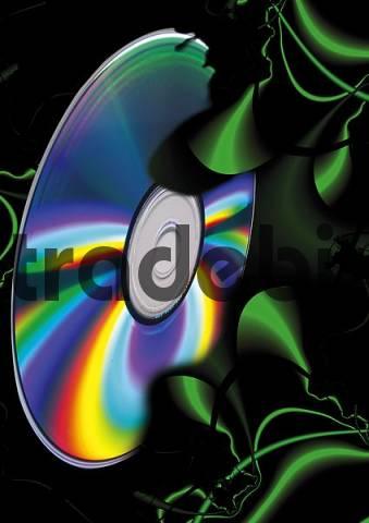 CD/DVD: symbol for surveillance