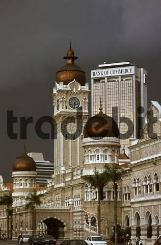 Sultan Abd Samad Building in Kuala Lumpur Malaysia