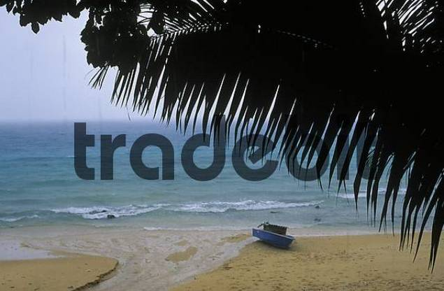 rain in Panuba Bay - Tioman Island - Malaysia