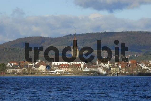 Radolfzell at the lake of constance - Konstanz district, Baden-Wuerttemberg, Germany, Europe.