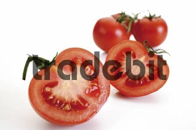 Fresh organic tomatoes Solanaceae