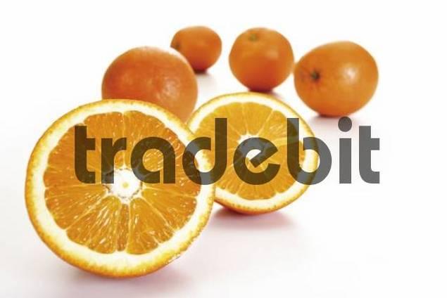 Fresh oranges Citrus