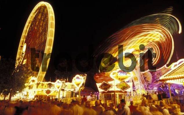 Fair, one of Germanys biggest Folkfests, Erlangen, Bavaria, Germany