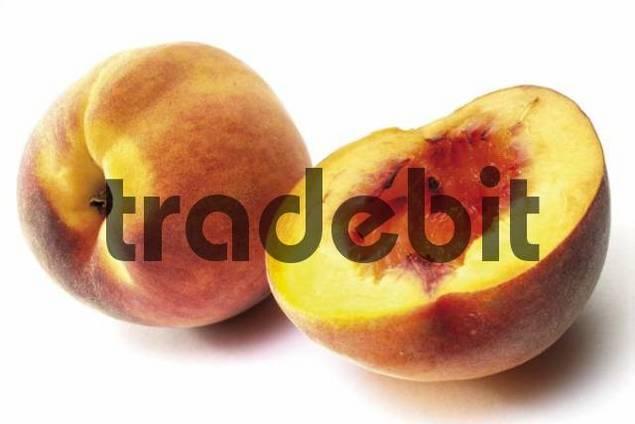 Fresh Peaches Prunus persica