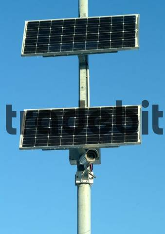 solar with video control