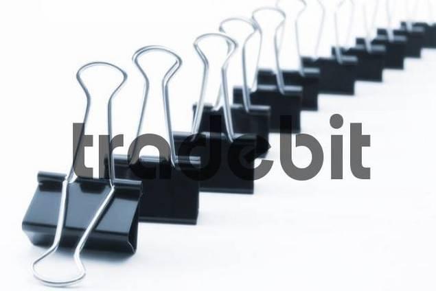 Fold-back paperclips