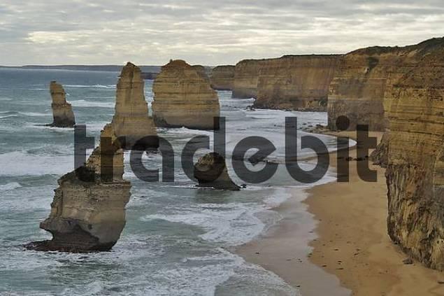 rocks of the Twelve Apostels Port Campbell NP Victoria Australia