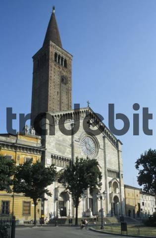 Duomo cathedral, Piacenza, Emilia Romagna, Italy, Europe