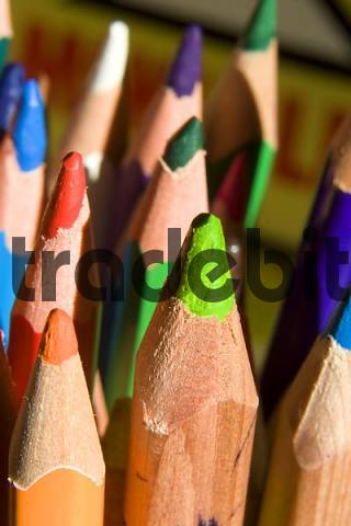 Pencil crayons, colouring pencils