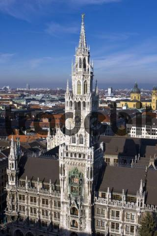 City Hall in Munich, Bavaria, Germany, Europe