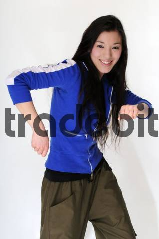 Asian Girl Hip Hop