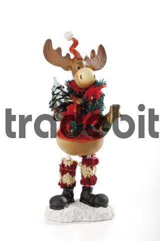 Wooden reindeer, Christmas decoration