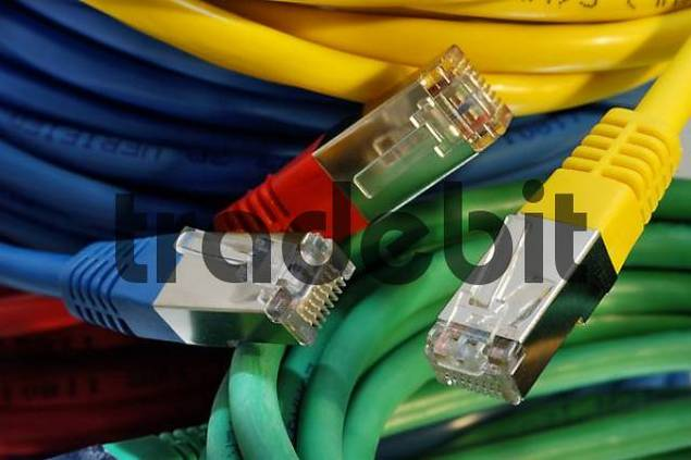 coloured network cables for computer