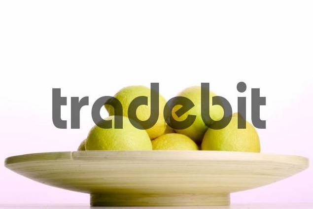 lemon in a dish