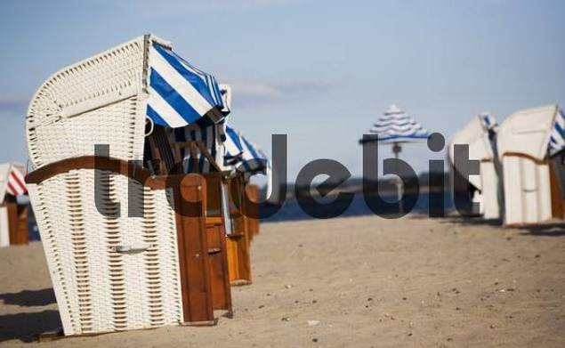 Baltic Sea beach near Timmendorf, Schleswig-Holstein, Germany, Europe