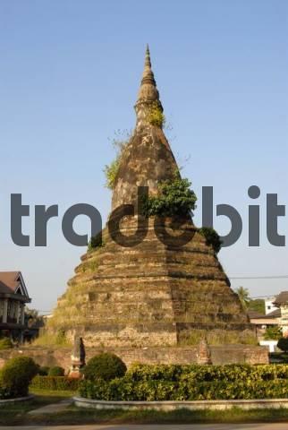 Old Stupa That Dam, Vientiane, Laos, Asia