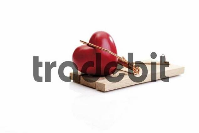 Heart caught in a mousetrap