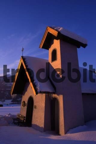 Chapel of the Holy Cross, Gattern district, Gallzein, Tyrol, Austria, Europe