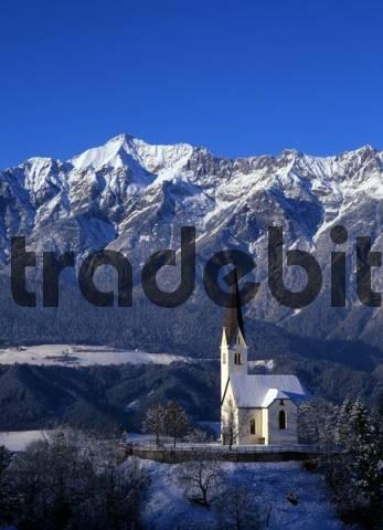 Church of St. Peter, Weerberg, Tyrol, Austria, Europe